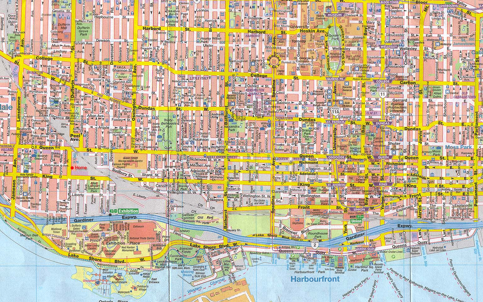 From The Junction To Little Italy Through China Town To